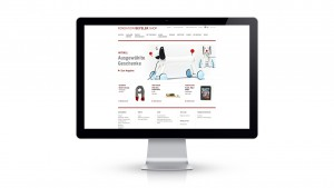 Fondation Beyeler webshop 2012 screen homepage